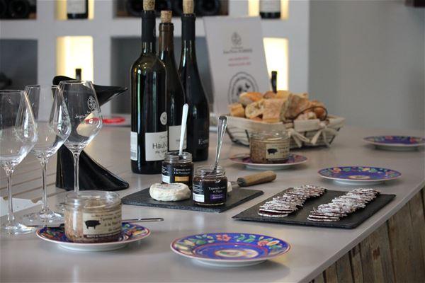 Atelier tapas et vins au Domaine du Haut-Lirou