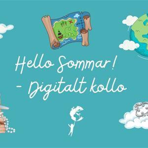 Hello Sommar! - digitalt kollo För alla 8-18 år