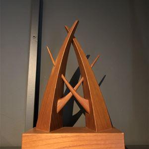 Skulptur i trä