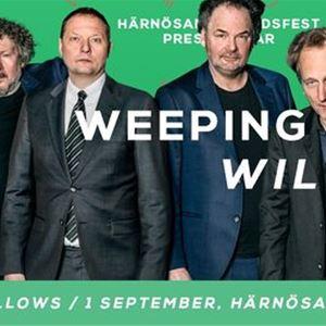 Weeping Willows kommer till Härnösand