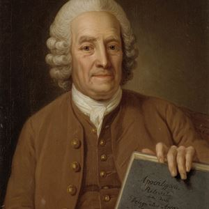 Emanuel Swedenborg, tavla av Per Krafft d.ä. Nationalmuseum