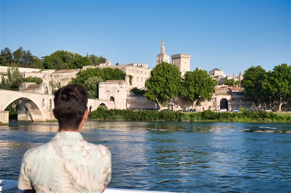 Croisière Avignon - Déjeuner des Papes