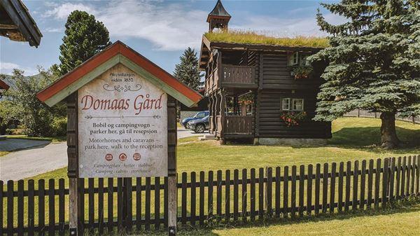 Stabburet på Domaas Gård