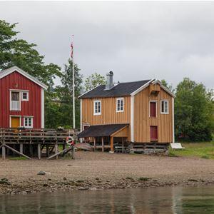 Kathrine Sørgård/nordnorge.com,  © Kathrine Sørgård/nordnorge.com, Guesthouses in the historic area in Mosjøen