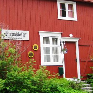 Guesthouses in the historic area in Mosjøen