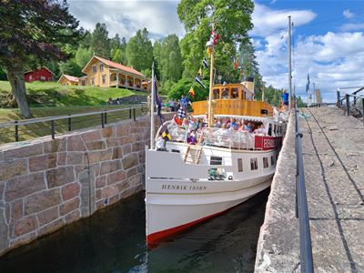 Thon Hotel Høyers: canal`s highlight: accomodation Skien