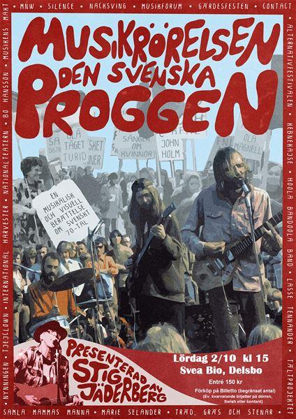'Musikrörelsen - Den Svenska Proggen' i Svea Bio, Delsbo