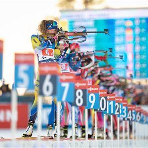 Foto:Biathlon,  © Copy: Biathlon Östersund, Världscupen Skidskytte 2021