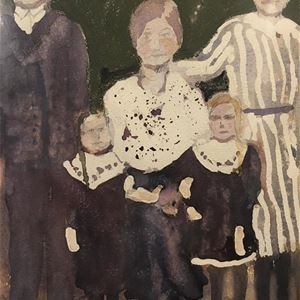 Art exhibition by members of the Åland's Art Association at Önningeby Museum