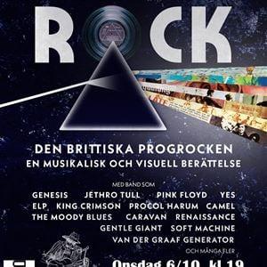 'Progressive Rock - Den Brittiska Progrocken' i Mo Bygdegård
