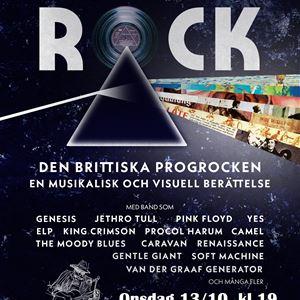 'Progressive Rock - Den Brittiska Progrocken' i Byagården Runemo