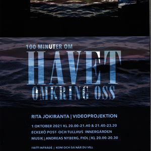 Videoprojektion: 100 minuter om Havet omkring oss