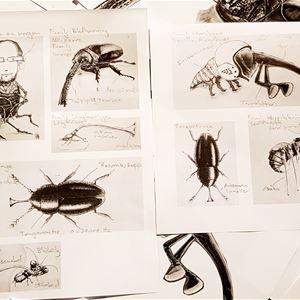 Jan Carleklev, Familjelördag: Insektskören
