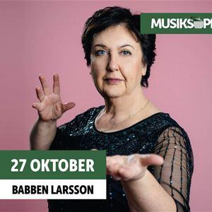 Musiksoppa på Söders källa: Babben Larsson