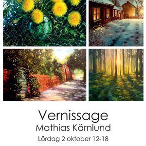 © Copy: https://www.facebook.com/Galleri-Renee-164500296924693, Utställning - Mathias Kärnlund, Galleri Renee