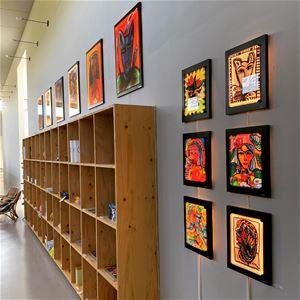 Konst på Vida Museum och Konsthall