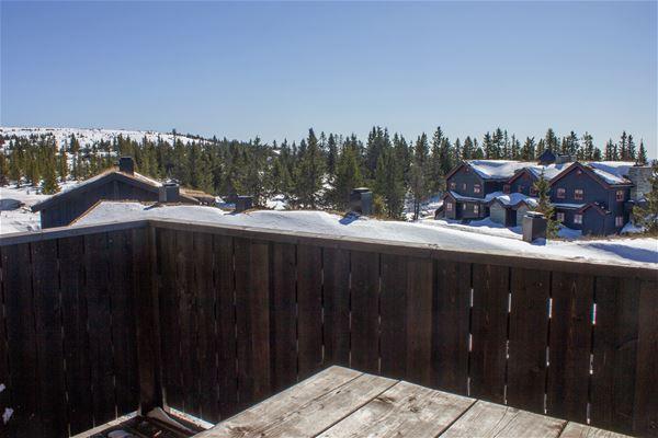 Utsikt fra veranda