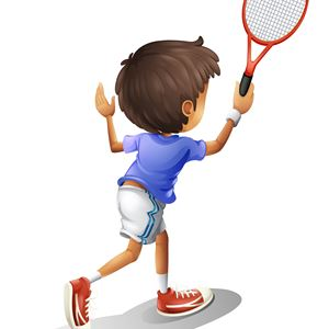 Prova på tennis
