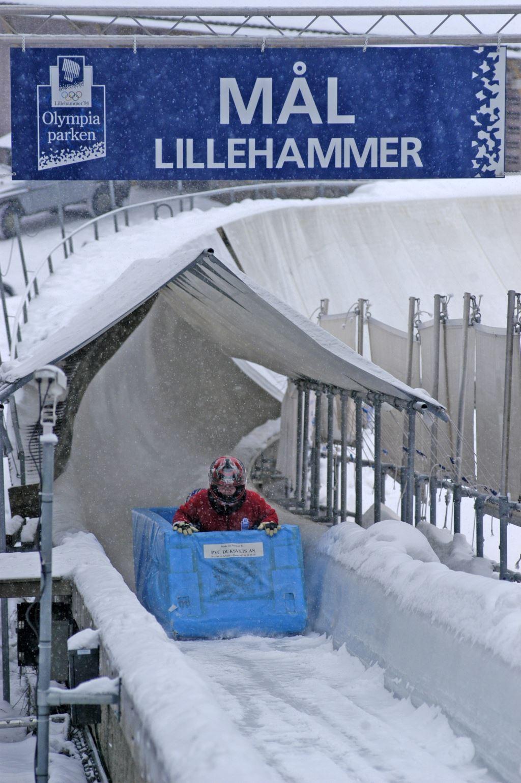 Esben Haakenstad,  © Lillehammer Olympiapark, Lillehammer Olympiske Bob og akebane