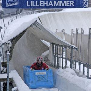 Esben Haakenstad,  © Lillehammer Olympiapark, Lillehammer Olympic Bobsleigh and Luge track