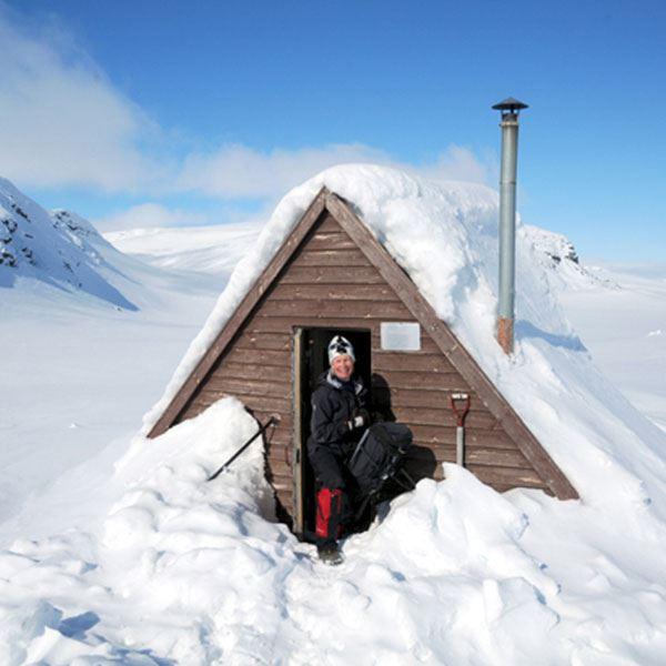 Sam Hedman,  © Hemavan Tärnaby PR-förening, Vallentjakke / Marinstugan