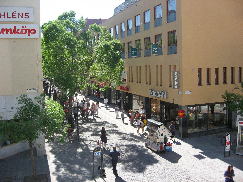 Foto: Hotell Zäta,  © Copy: Hotell Zäta, Från gågatan