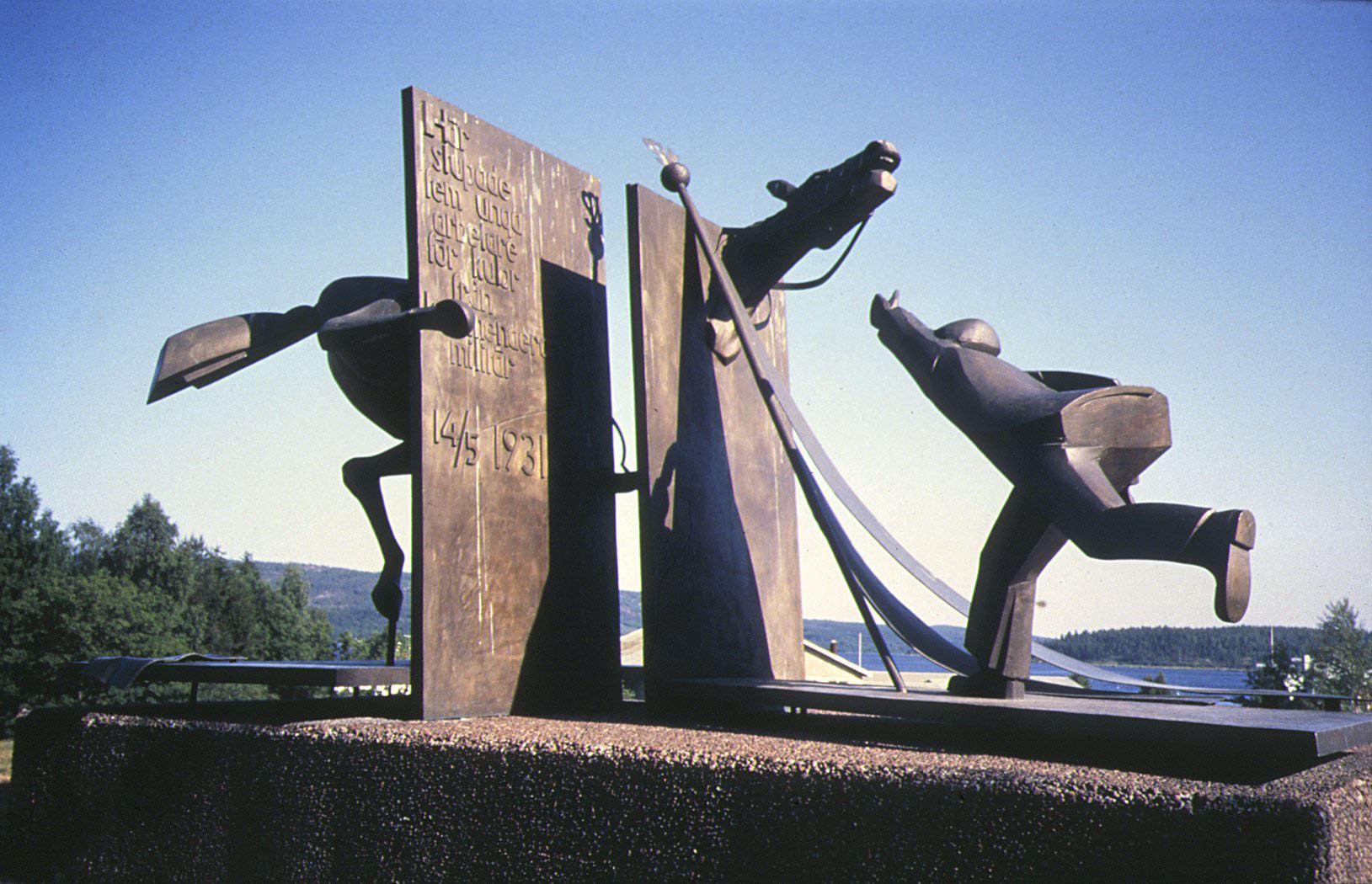 © Kramfors kommun, Monument över Ådalshändelserna -31