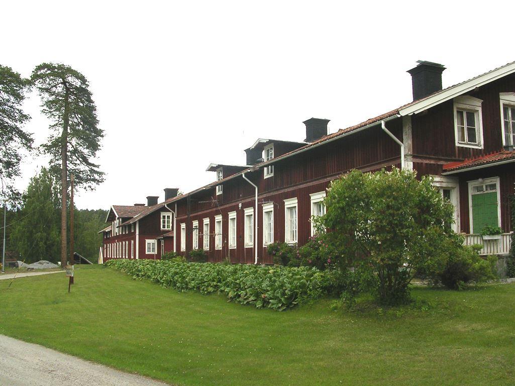 Bo i Kulturreservat - Mariebergs sågverksamhälle
