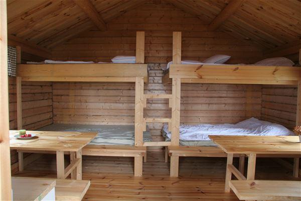 Sjönära stuga vid sjön Långsjön, 10-12 bäddar, 19 m2