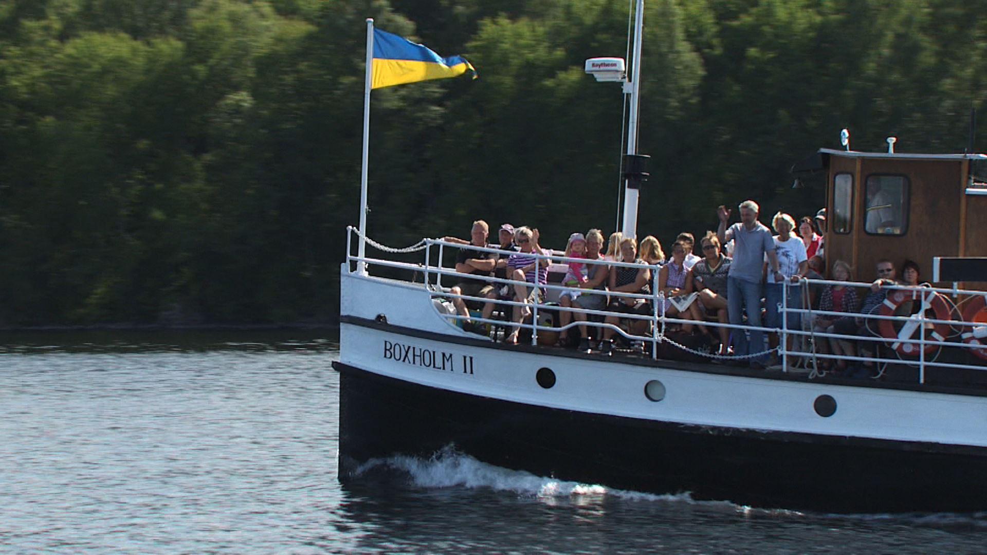 Söndagskryssning på S/S Boxholm II