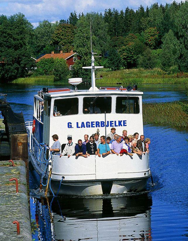 Hjälmare kanalkryss Örebro till Hjälmare Docka (Arboga)