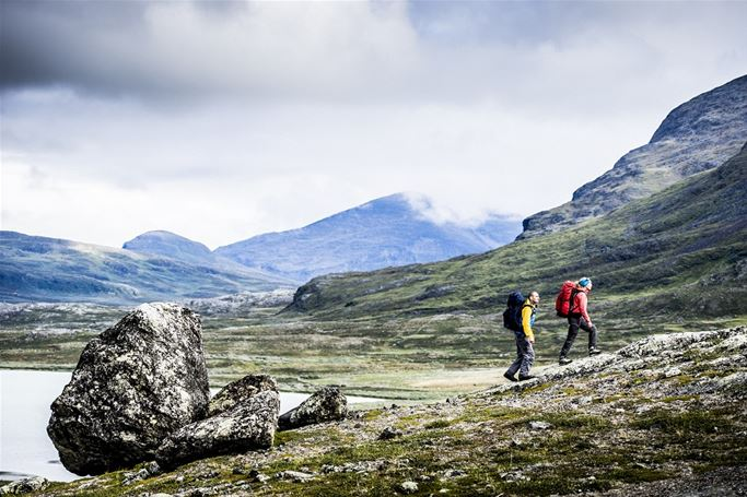 Lappland - Den första fjällvandringen