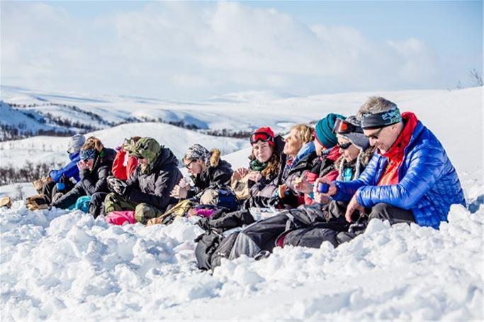 Jämtland - Jämtlandstriangeln med guide vinter