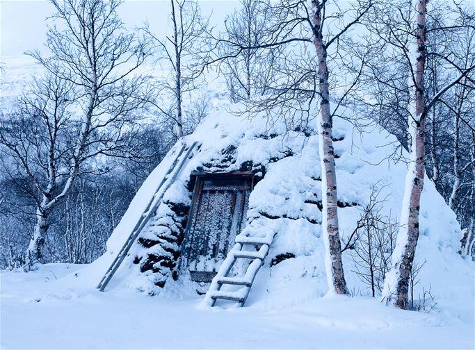 Abisko - Kulturhistorisk guidning i samevistet (vinter)