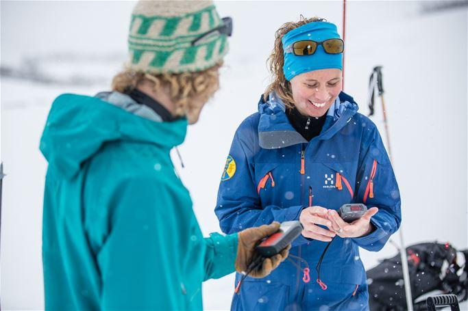 Abisko - Avalanche course with ski touring