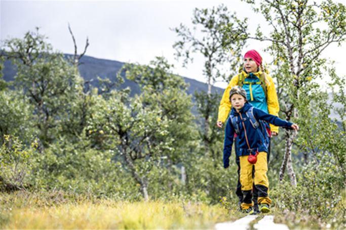 Grövelsjön - Barn med förälder