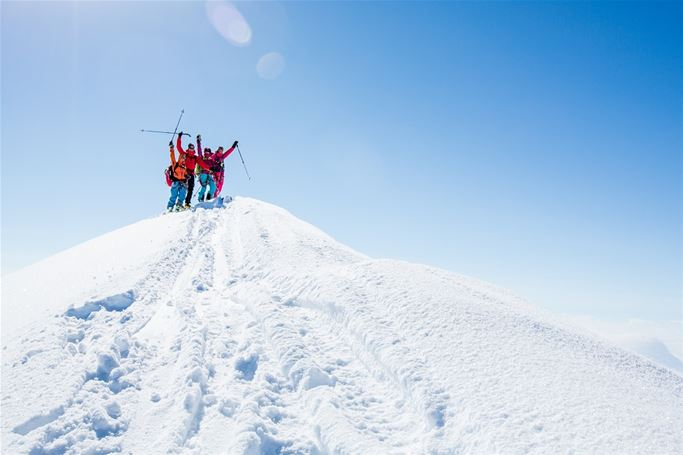 Kebnekaise - Topptursförsök till Sydtoppen 2100 m.ö.h