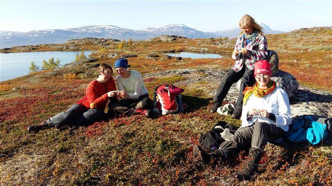 Handarbetshelg i Ritsem med Erika Nordvall Falck