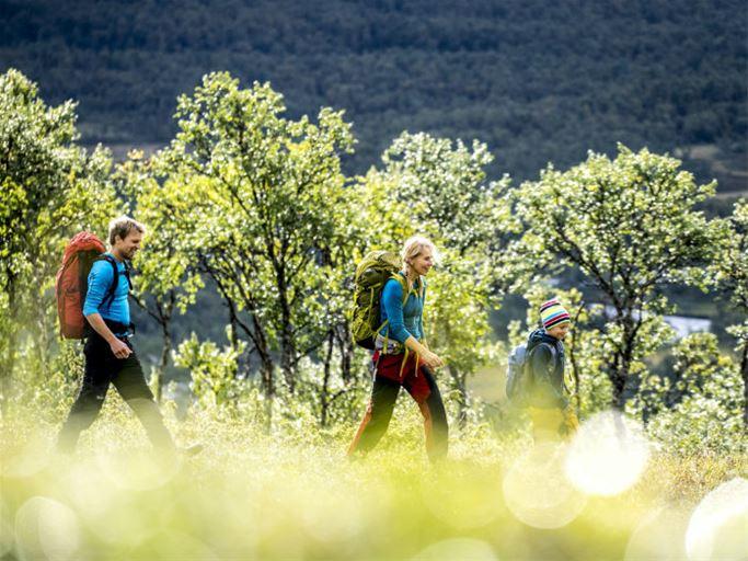 Jämtland - Tältvandring Grundkurs Familj
