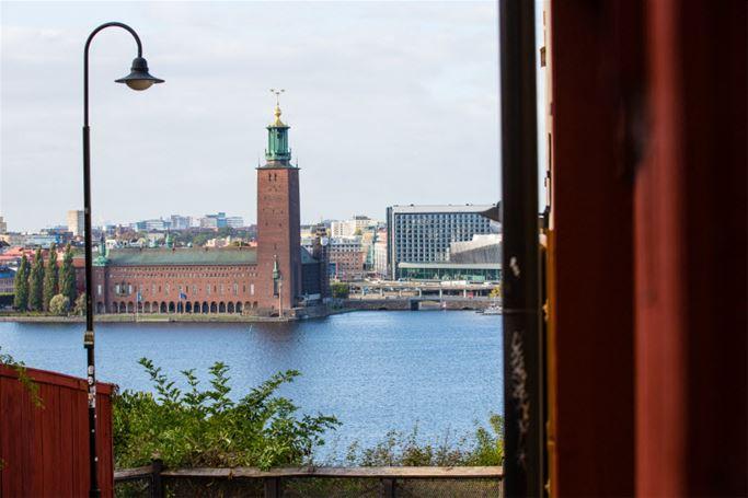 Stockholm från Cykelsadeln