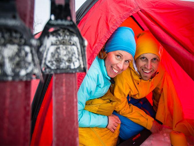 Jämtland - Winter mountain course