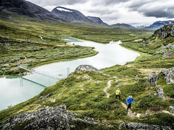 Laponia - Fjällöpning i världsarvet