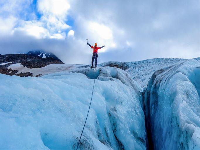 Glaciärkurs Kebnekaise