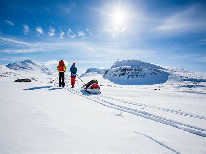 Lappland - Kungsleden Abisko - Kebnekaise (vinter)