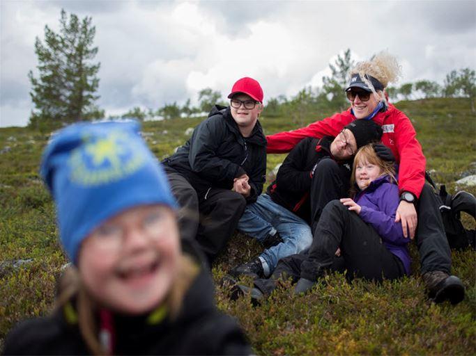 Familjevecka för barn och ungdomar med Downs syndrom